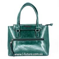 Женская Сумка Арт. 89884 Цвет Зелёный
