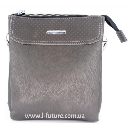 Мужская сумка Арт. 8875-1 Цвет Серый ID-679