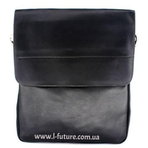 Мужская сумка Арт. 8066 Цвет Чёрный ID-682