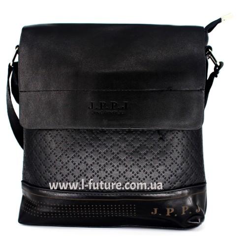 Мужская сумка Арт. 13 Цвет Чёрный ID-685