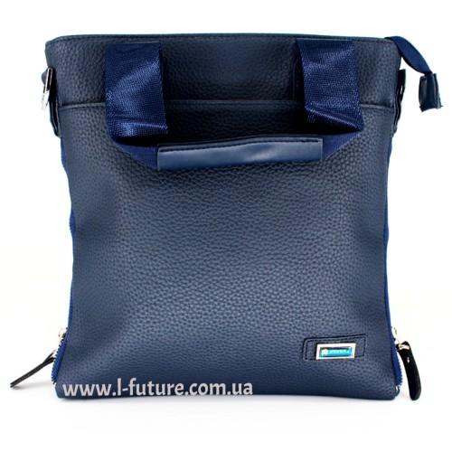 Мужская сумка Арт. 86-2 Цвет Синий ID-687