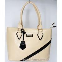 Женская сумка Арт. 8007  Цвет Светлый Беж