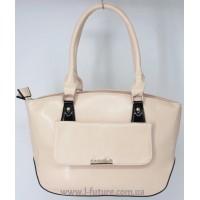 Женская сумка Арт. 8008  Цвет Светлый Беж