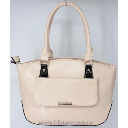 Женская сумка Арт. 8008  Цвет Светлый Беж ID-915