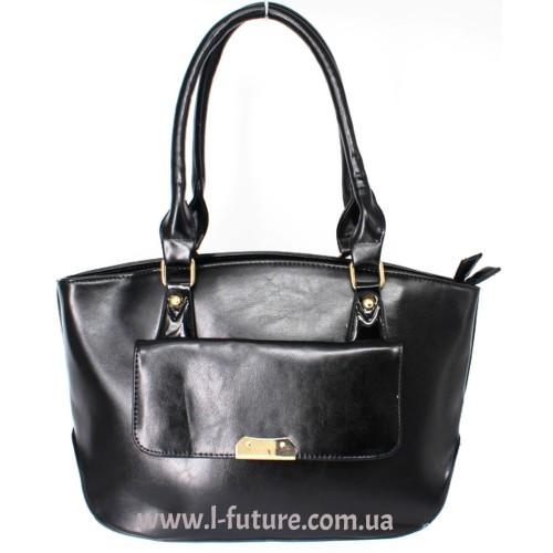 Женская сумка Арт. 8008  Цвет Чёрный ID-916