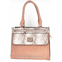 Женская сумка арт. 617  Цвет Тёмный Беж