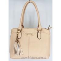 Женская сумка арт. 8520 Цвет Светлый Беж