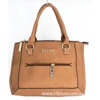 Женская сумка Арт. D-128  Цвет Тёмный Беж