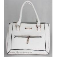 Женская сумка Арт. D-128  Цвет Белый