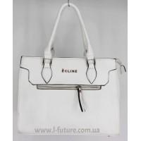 Женская сумка Арт. D-123  Цвет Белый