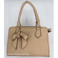 Женская сумка Арт. 87215 Цвет Тёмный Беж