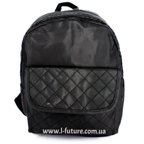 Женский рюкзак Арт. G-019  Цвет Чёрный ID-1043
