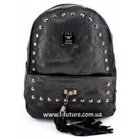 Женский рюкзак Арт. G-025  Цвет Чёрный