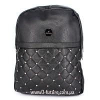 Женский рюкзак Арт. G-007  Цвет Чёрный