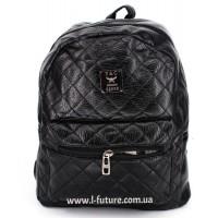 Женский рюкзак Арт. G-012  Цвет Чёрный