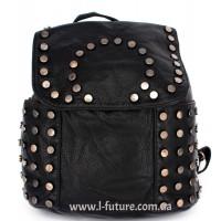Женский рюкзак Арт. G-03  Цвет Чёрный