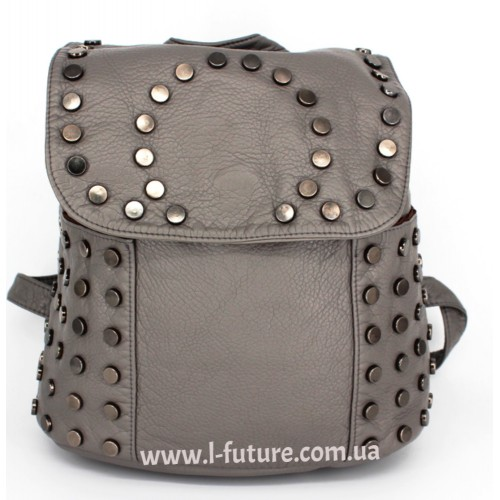 Женский рюкзак Арт. G-03  Цвет Серый