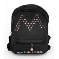 Женский рюкзак Арт. G-017   Цвет Чёрный