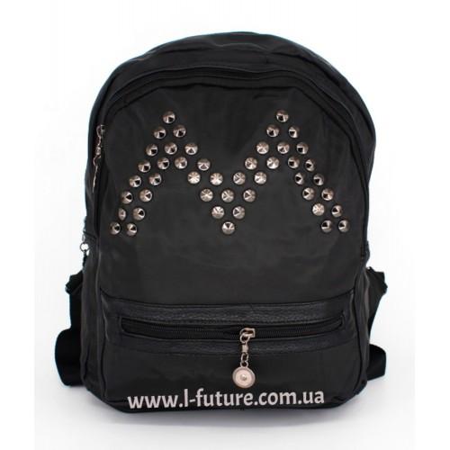 Женский рюкзак Арт. G-017   Цвет Чёрный ID-1058