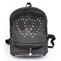 Женский рюкзак Арт. G-024  Цвет Чёрный