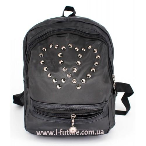 Женский рюкзак Арт. G-024  Цвет Чёрный ID-1059