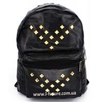 Женский рюкзак Арт. G-80   Цвет Чёрный