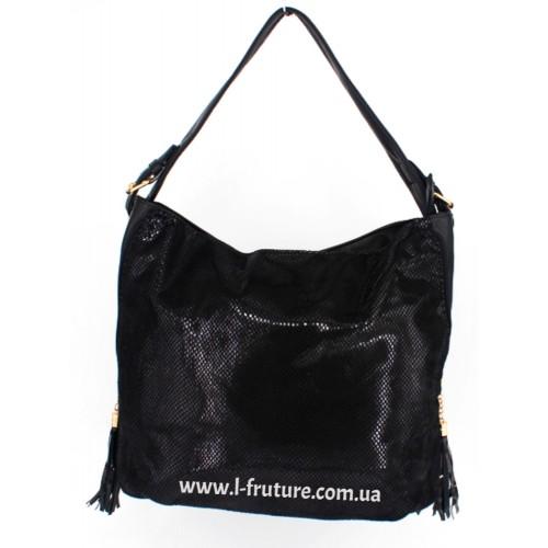 Женская сумка Арт. 99089  Цвет Чёрный ID-1160