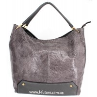 Женская сумка Арт. 99092  Цвет Серый