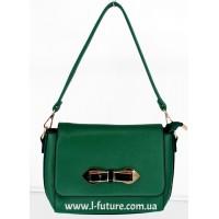 Женская сумка Арт А 0539.Цвет Зелёный