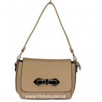 Женская сумка арт А 0539.Цвет Темный  БЕЖ
