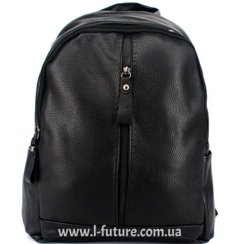Женский рюкзак Арт. W 020  Цвет Чёрный ID-1501