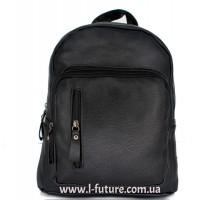 Женский рюкзак Арт. W 017  Цвет Чёрный