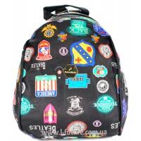 Женский рюкзак Арт. D 618 Цвет Чёрный (  С Логотипом)