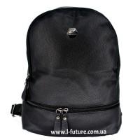 Женский рюкзак Арт. W 019  Цвет Чёрный