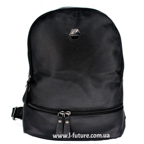Женский рюкзак Арт. W 019  Цвет Чёрный ID-1676