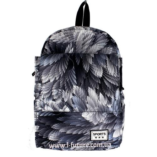 Женский рюкзак Арт. 308 Цвет Листья ID-1722