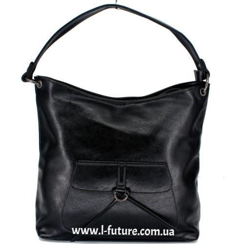 Женская сумка Арт. F-902  Цвет Чёрный ID-1785