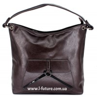 Женская сумка Арт. F-902  Цвет Коричневый