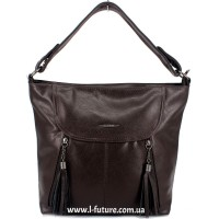 Женская сумка Арт. 8695  Цвет Коричневый
