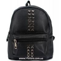 Женский рюкзак Арт. 103  Цвет Чёрный