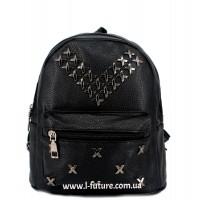 Женский рюкзак Арт. 102 Цвет Чёрный