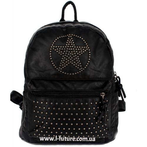 Женский рюкзак Арт. 6503  Цвет Чёрный ID-1829