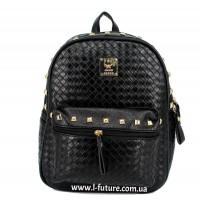 Женский рюкзак Арт. А-2  Цвет Чёрный