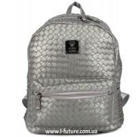 Женский рюкзак Арт. K-035  Цвет Cеребро