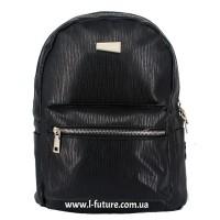 Женский рюкзак Арт. А-6  Цвет Чёрный