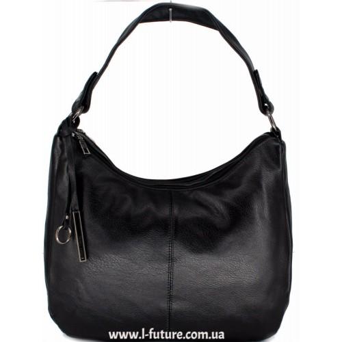 Женская сумка Арт. 624  Цвет Чёрный ID-1855