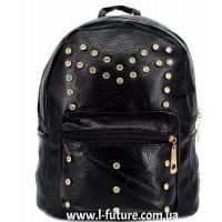 Женский рюкзак Арт. K-10  Цвет Чёрный