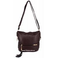 Женская сумка 839-1 Цвет Коричневый