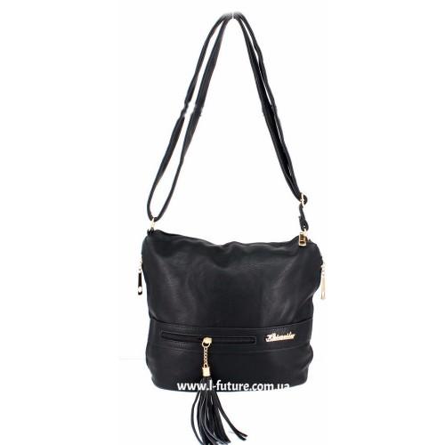 Женская сумка 839-1 Цвет Чёрный ID-1909