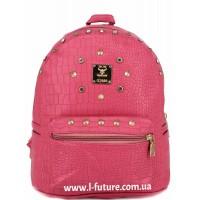 Женский рюкзак Арт. 8826  Цвет Малиновый